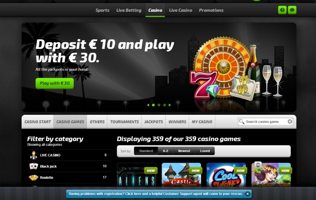 mobilbet casino