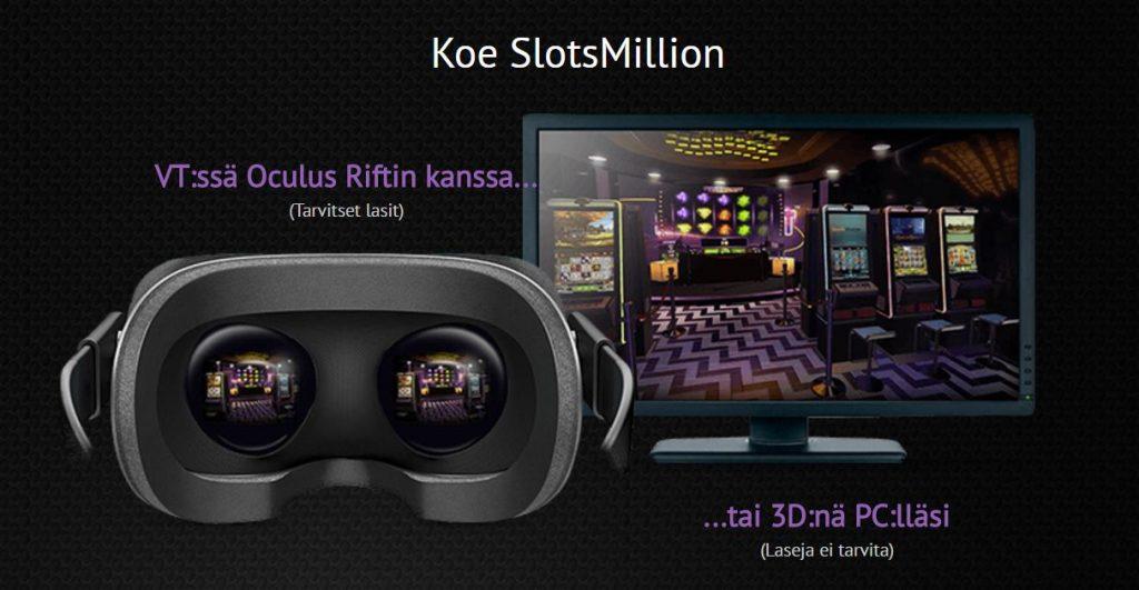 slotsmillion virtuaali
