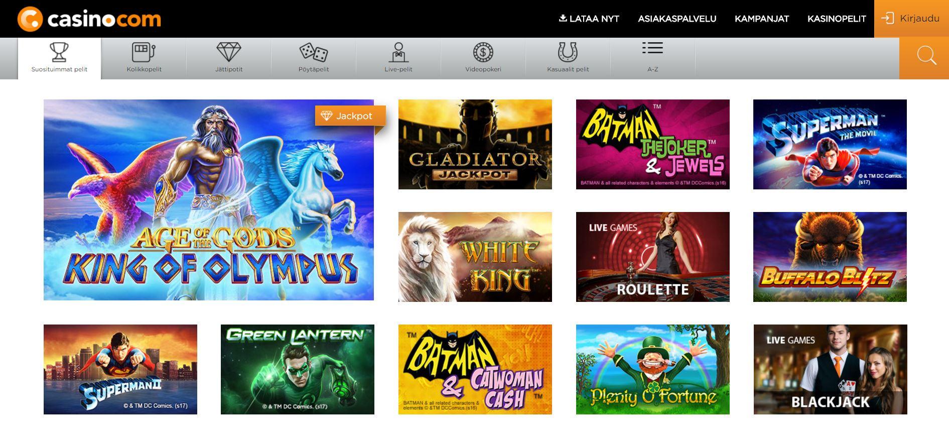 casino.com etusivu