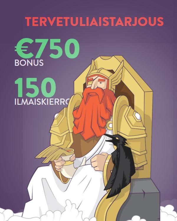 vikingheim tervetuliaisbonus