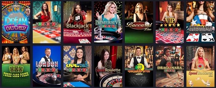 twin casino table