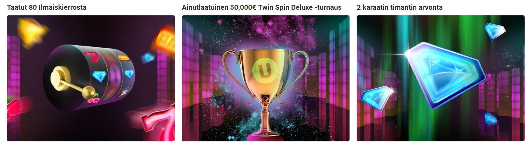 twin spin deluxe unibet