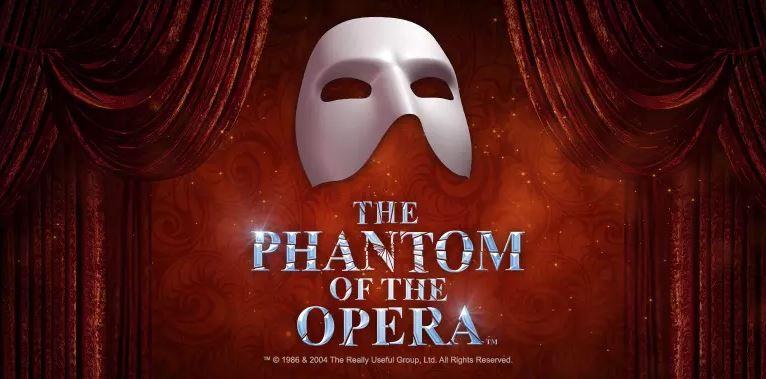 phantom of the opera kolikkopeli