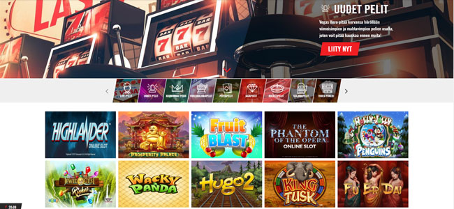 Vegas Hero uudet pelit