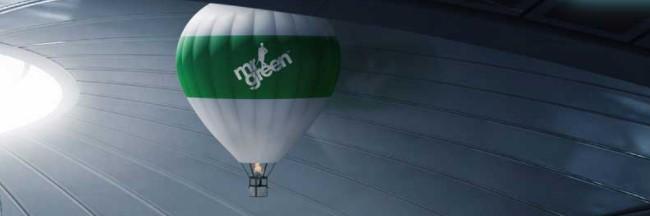Mr Green tervetuliaistarjous