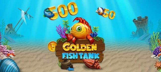 Leo Vegas Casino Golden Fish Tank