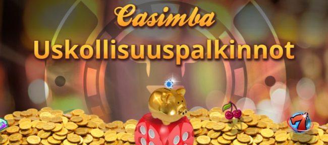 Casimba uskollisuuspalkinnot