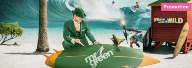 Mr Green ilmaiskierroksia