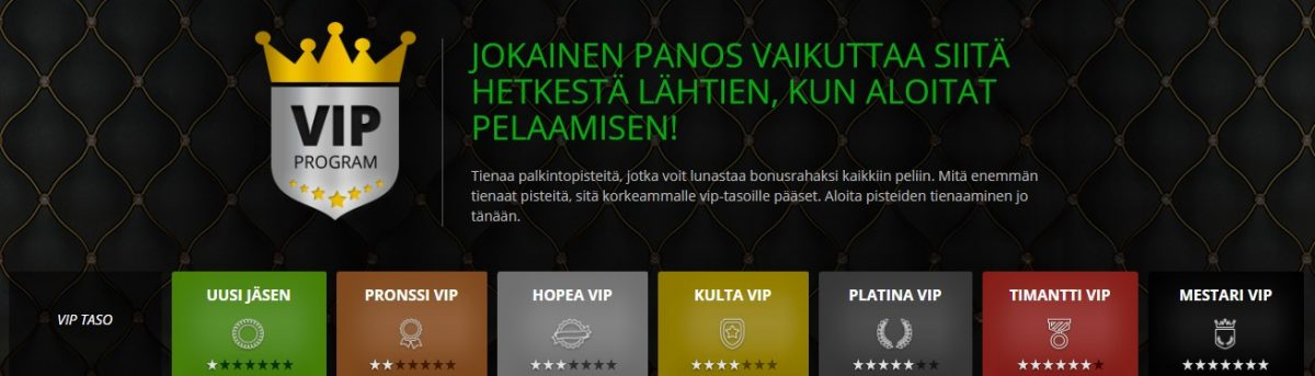 Casinoluck VIP-klubi