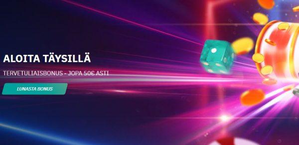 Fastbet Casino tervetuliaisbonus