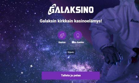 Galaksino talleta ja pelaa