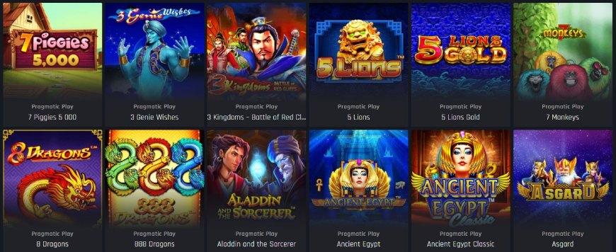 Casino Universe kolikkopelit