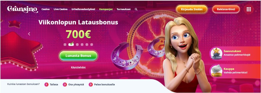 Gransino Casino tervetulobonus