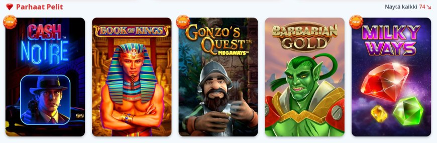 Gransino Casino kolikkopelit