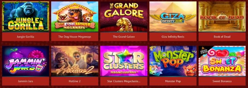 Rant Casino kolikkopelit