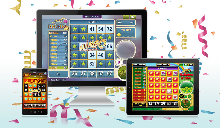 Slingo Casino mobiilisti ja pöytäkoneella