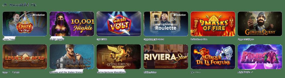 Casino Room kuumat pelit