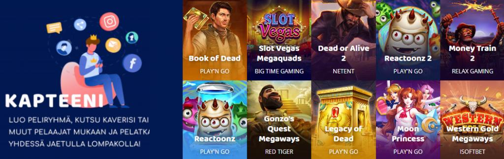 Casinobud Casino pelaa ryhmässä