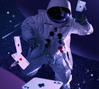 Galaksino asiakaspalvelu avaruusukko