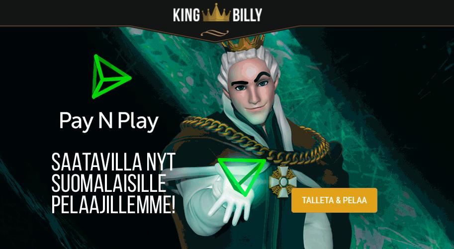 King Billy Casino Trustly