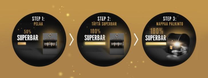Super Seven Superbar bonus