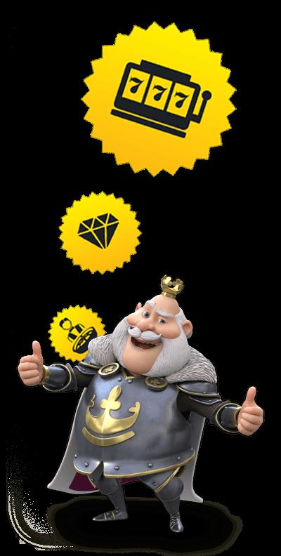 Casino Heroes king