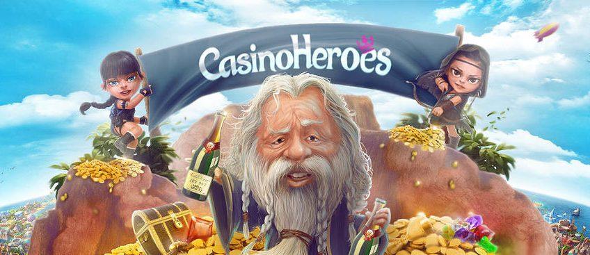 Casino Heroes banner
