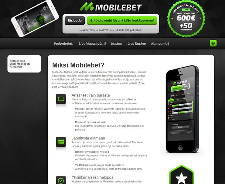 Mobilebet rahansiirrot