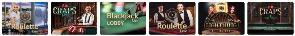 Nano Casino live casino