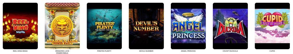 Vauhti Casino pelit