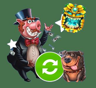 StickyWilds Casino bonukset