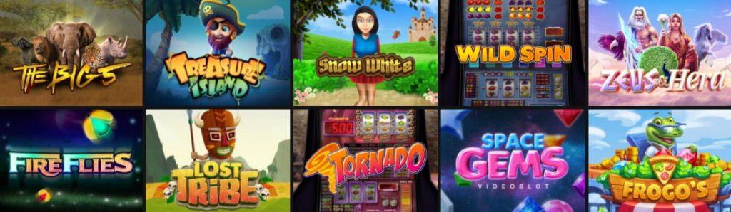 One Casino eksklusiiviset kolikkopelit