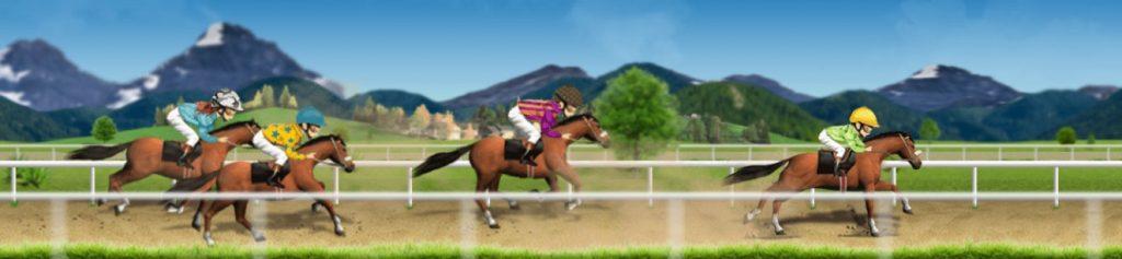 One Casino virtuaalinen hevoskilpailu