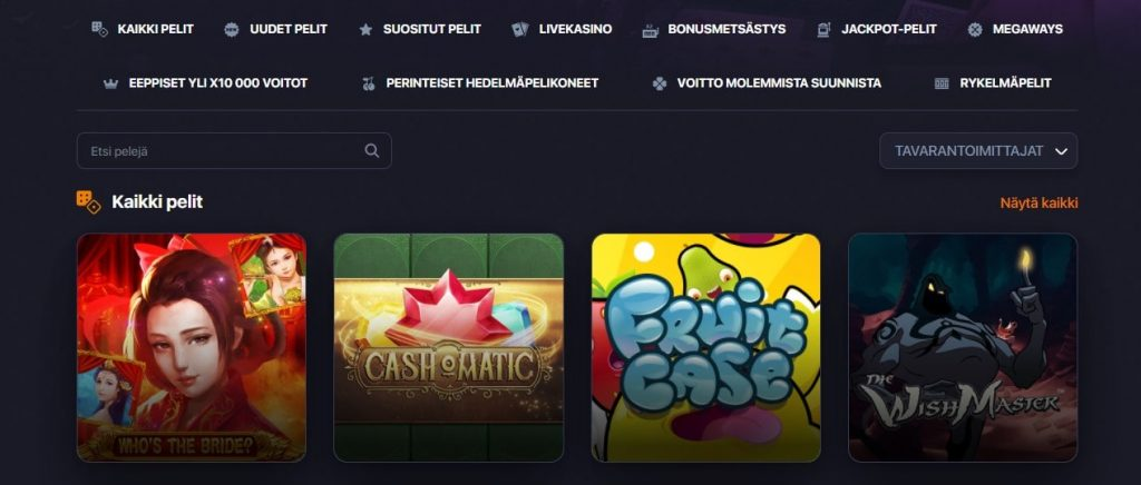Praise Casino kolikkopelit