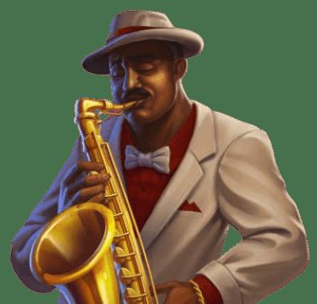 Winota Casino saksofonin soittaja