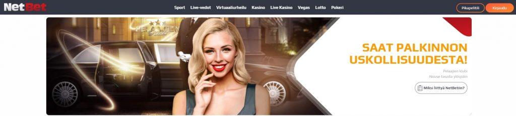 NetBet kasino VIP-klubi