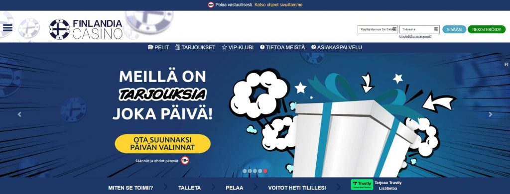 Finlandia Casino etusivu