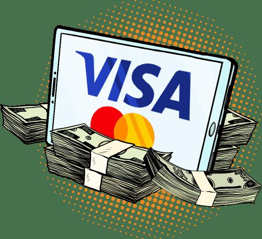 Mastercard ja Visa 1