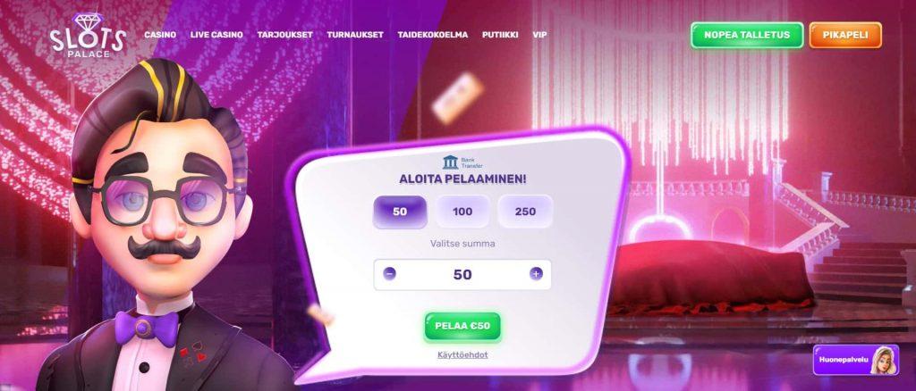 Slots Palace Casino etusivu