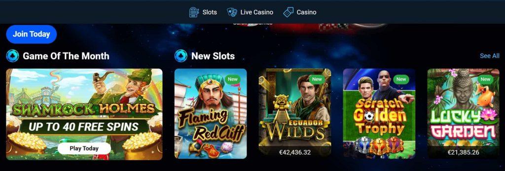 Spin247 Casino pelivalikoima
