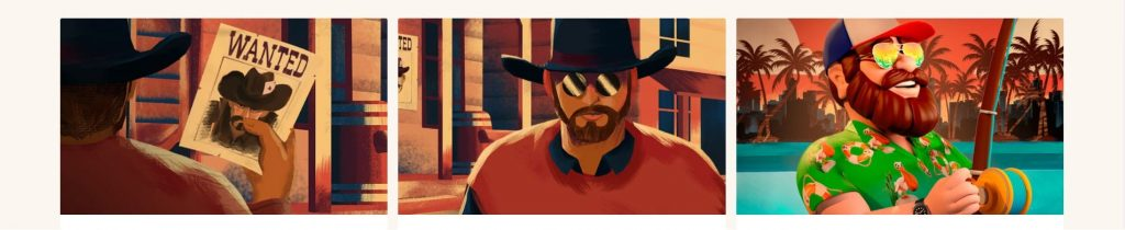 Rapid Casino cowboy ja kalastaja